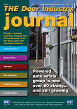 The Door Industry Journal - Winter 2013 Issue