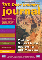 The Door Industry Journal - Spring 2012 Issue