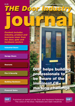 The Door Industry Journal - Spring 2013 Issue