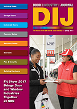 The Door Industry Journal - Spring 2017 Issue