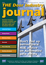 The Door Industry Journal - Spring 2014 Issue